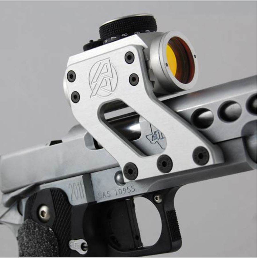 Aimpoint mounted on 1911 by Double Alpha.JPG